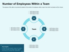 Star Performer Number Of Employees Within A Team Elements PDF