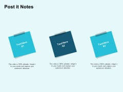 Star Performer Post It Notes Ppt Infographics Topics PDF