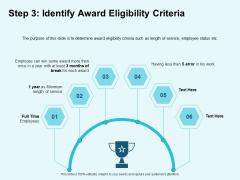 Star Performer Step 3 Identify Award Eligibility Criteria Ppt Outline Grid PDF