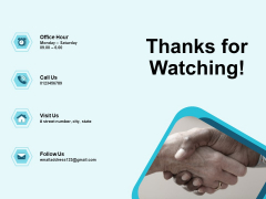 Star Performer Thanks For Watching Ppt Summary Layout Ideas PDF