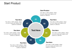 Start Product Ppt PowerPoint Presentation Model Introduction Cpb