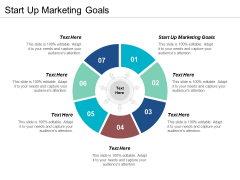 Start Up Marketing Goals Ppt PowerPoint Presentation Summary Rules Cpb