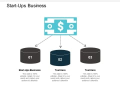Start Ups Business Ppt PowerPoint Presentation Model Elements Cpb