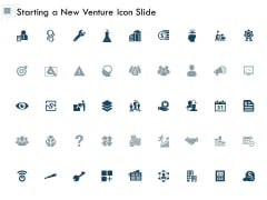 Starting A New Venture Icon Slide Marketing Ppt PowerPoint Presentation Pictures Design Templates