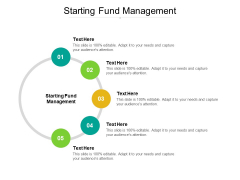 Starting Fund Management Ppt PowerPoint Presentation Layouts Example Topics Cpb