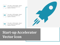 Startup Accelerator Vector Icon Ppt Powerpoint Presentation Outline Grid