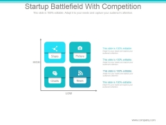 Startup Battlefield With Competition Ppt PowerPoint Presentation Gallery