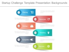 Startup Challenge Template Presentation Backgrounds