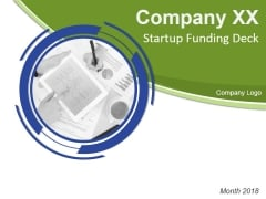 Startup Funding Deck Ppt PowerPoint Presentation Complete Deck With Slides