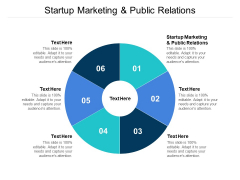 Startup Marketing And Public Relations Ppt PowerPoint Presentation Topics Cpb