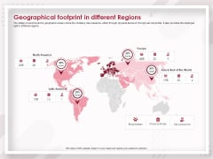 Startup Pitch To Raise Capital From Crowdfunding Geographical Footprint In Different Regions Guidelines PDF