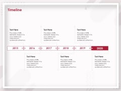 Startup Pitch To Raise Capital From Crowdfunding Timeline Designs PDF