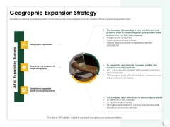 Startup Presentation For Collaborative Capital Funding Geographic Expansion Strategy Pictures PDF