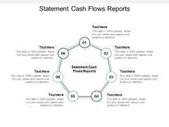 Statement Cash Flows Reports Ppt PowerPoint Presentation Icon Background Cpb