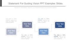 Statement For Guiding Vision Ppt Examples Slides