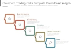 Statement Trading Skills Template Powerpoint Images