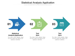 Statistical Analysis Application Ppt PowerPoint Presentation Visual Aids Icon Cpb
