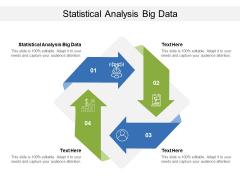 Statistical Analysis Big Data Ppt PowerPoint Presentation Ideas Diagrams Cpb