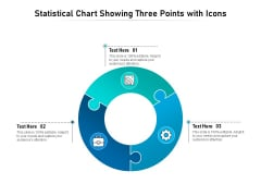 Statistical Chart Showing Three Points With Icons Ppt PowerPoint Presentation File Elements PDF