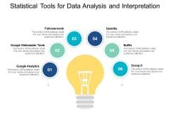 Statistical Tools For Data Analysis And Interpretation Ppt PowerPoint Presentation Portfolio Visuals