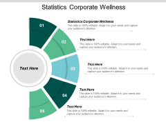 Statistics Corporate Wellness Ppt PowerPoint Presentation Slides Backgrounds Cpb