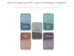 Stats Arrangement Ppt Layout Presentation Diagrams