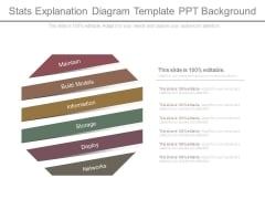 Stats Explanation Diagram Template Ppt Background