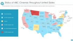 Status Of ABC Cinemas Throughout United States Ppt Portfolio Good PDF