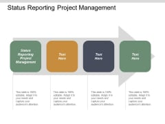 Status Reporting Project Management Ppt PowerPoint Presentation Ideas Themes Cpb