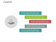 Step 5 Control Ppt PowerPoint Presentation Introduction