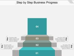 Step By Step Business Progress Ppt PowerPoint Presentation Summary Gallery