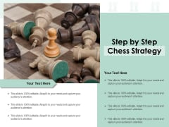 Step By Step Chess Strategy Ppt PowerPoint Presentation Gallery Samples PDF
