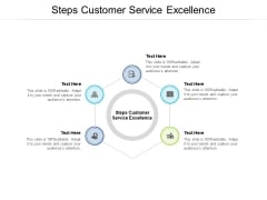 Steps Customer Service Excellence Ppt PowerPoint Presentation Infographic Template Example 2015 Cpb