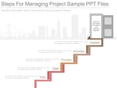 Steps For Managing Project Sample Ppt Files