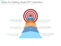 Steps For Setting Goals Ppt Inspiration
