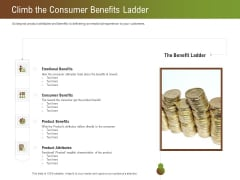 Steps For Successful Brand Building Process Climb The Consumer Benefits Ladder Microsoft PDF