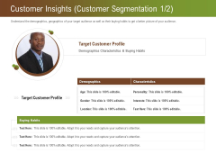 Steps For Successful Brand Building Process Customer Insights Customer Segmentation Age Ideas PDF