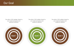 Steps For Successful Brand Building Process Our Goal Ppt Visual Aids Infographic Template PDF