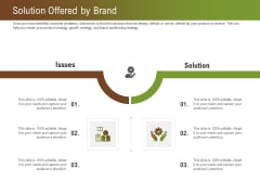 Steps For Successful Brand Building Process Solution Offered By Brand Pictures PDF