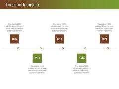 Steps For Successful Brand Building Process Timeline Template Slides PDF