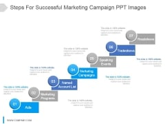 Steps For Successful Marketing Campaign Ppt Images