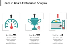 Steps In Cost Effectiveness Analysis Ppt PowerPoint Presentation Summary Example File