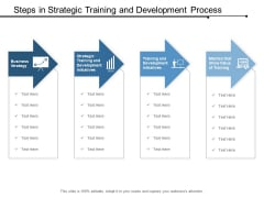 Steps In Strategic Training And Development Process Ppt Powerpoint Presentation Ideas Skills