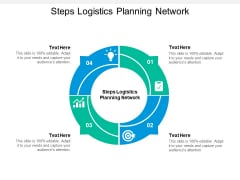 Steps Logistics Planning Network Ppt PowerPoint Presentation Professional Slideshow