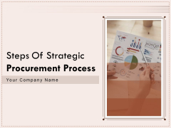 Steps Of Strategic Procurement Process Ppt PowerPoint Presentation Complete Deck With Slides