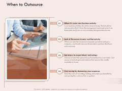Steps Of Strategic Procurement Process When To Outsource Ppt Guidelines PDF