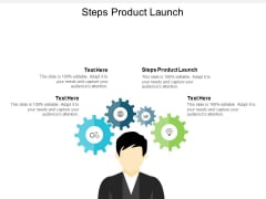 Steps Product Launch Ppt PowerPoint Presentation File Ideas Cpb