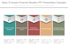 Steps To Assess Financial Situation Ppt Presentation Examples