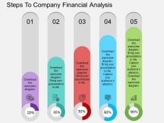 Steps To Company Financial Analysis Powerpoint Template