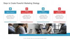 Steps To Create Powerful Marketing Strategy Ppt Ideas Show PDF